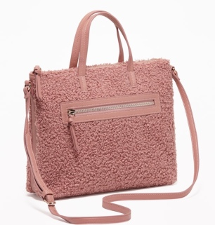 Sherpa Purse in English Rose by Old Navy