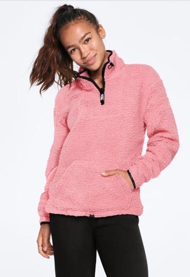 Victoria's Secret Sherpa Pullover
